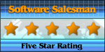 Five Star Award from Software Salesman