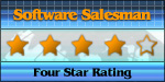 Four Star Award from Software Salesman